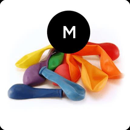 Ballonnen 30 cm 50 stuks