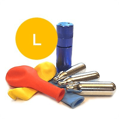 Laughing gas package gold (100 pieces)